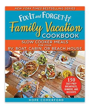 Camping Crockpot Sloow Cooker Recipe Cookbook
