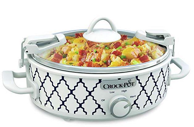 Camping Crockpot Slow Cooker Baking Dish