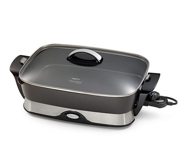 Electric Griddle Skillet for Camping